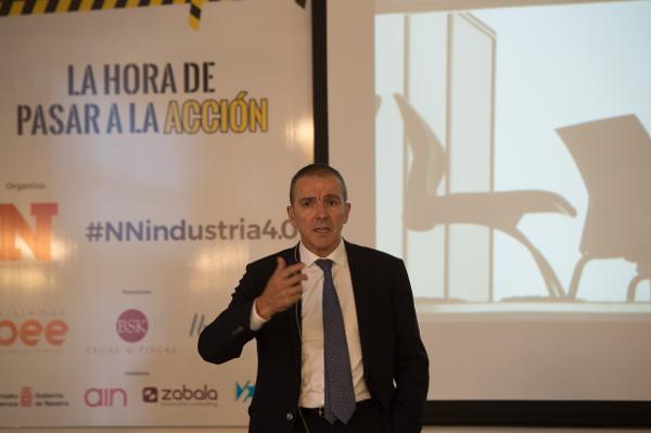 Jornadas Industria 4.0. Hotel Tres Reyes. Pamplona.