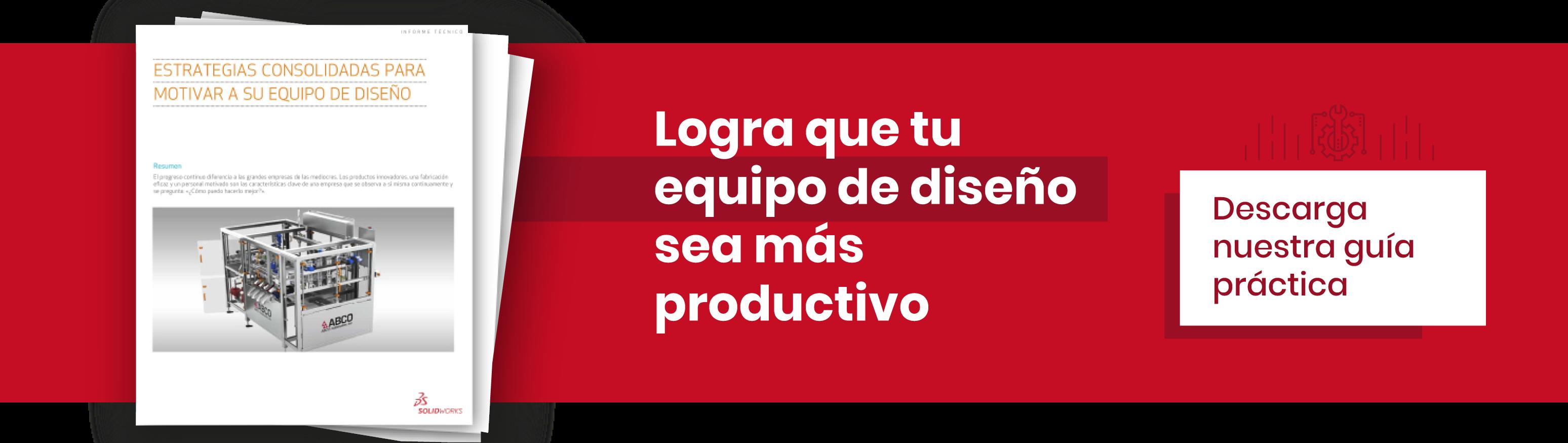 Logra que tu equipo de diseño sea más productivo