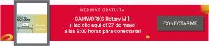 Rotary mill CAMWORKS
