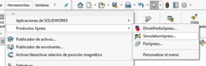 SOLIDWORKS XPRESS