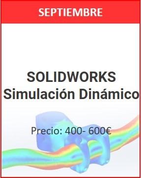 solidworks simulación dinámico septiembre 1