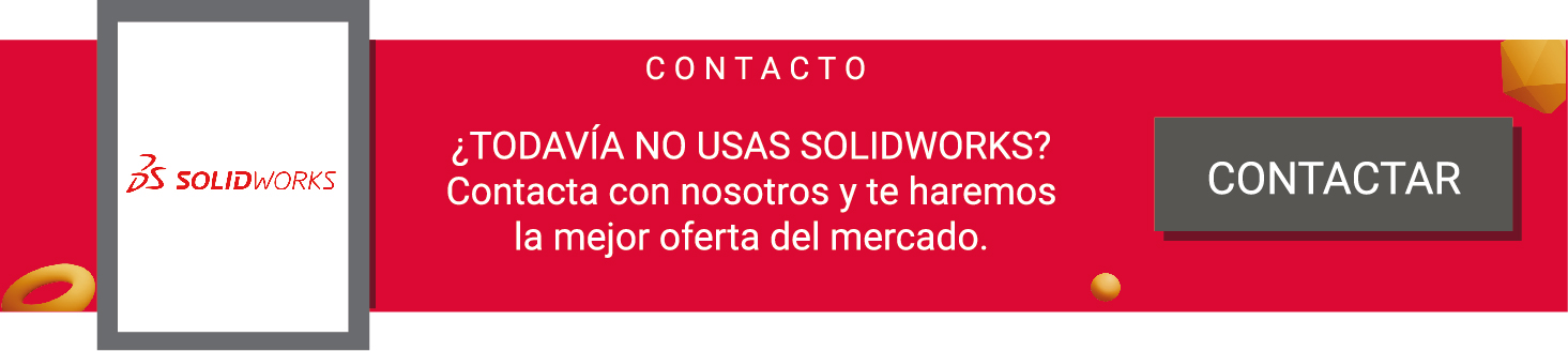 brida de arista SOLIDWORKS