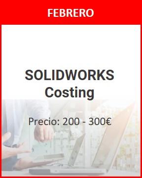 curso solidworks costing febrero