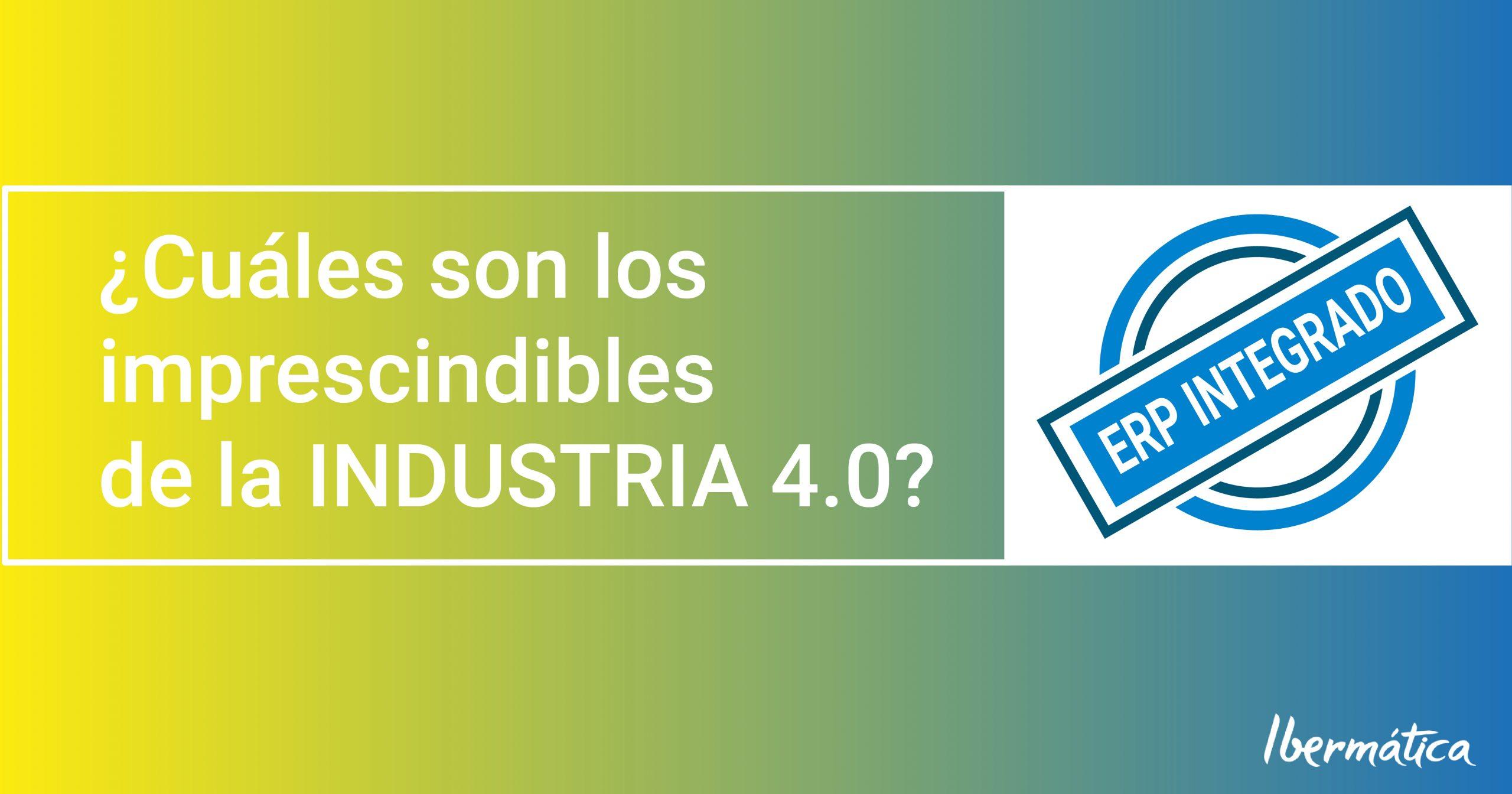 Aplicaciones industria 4.0