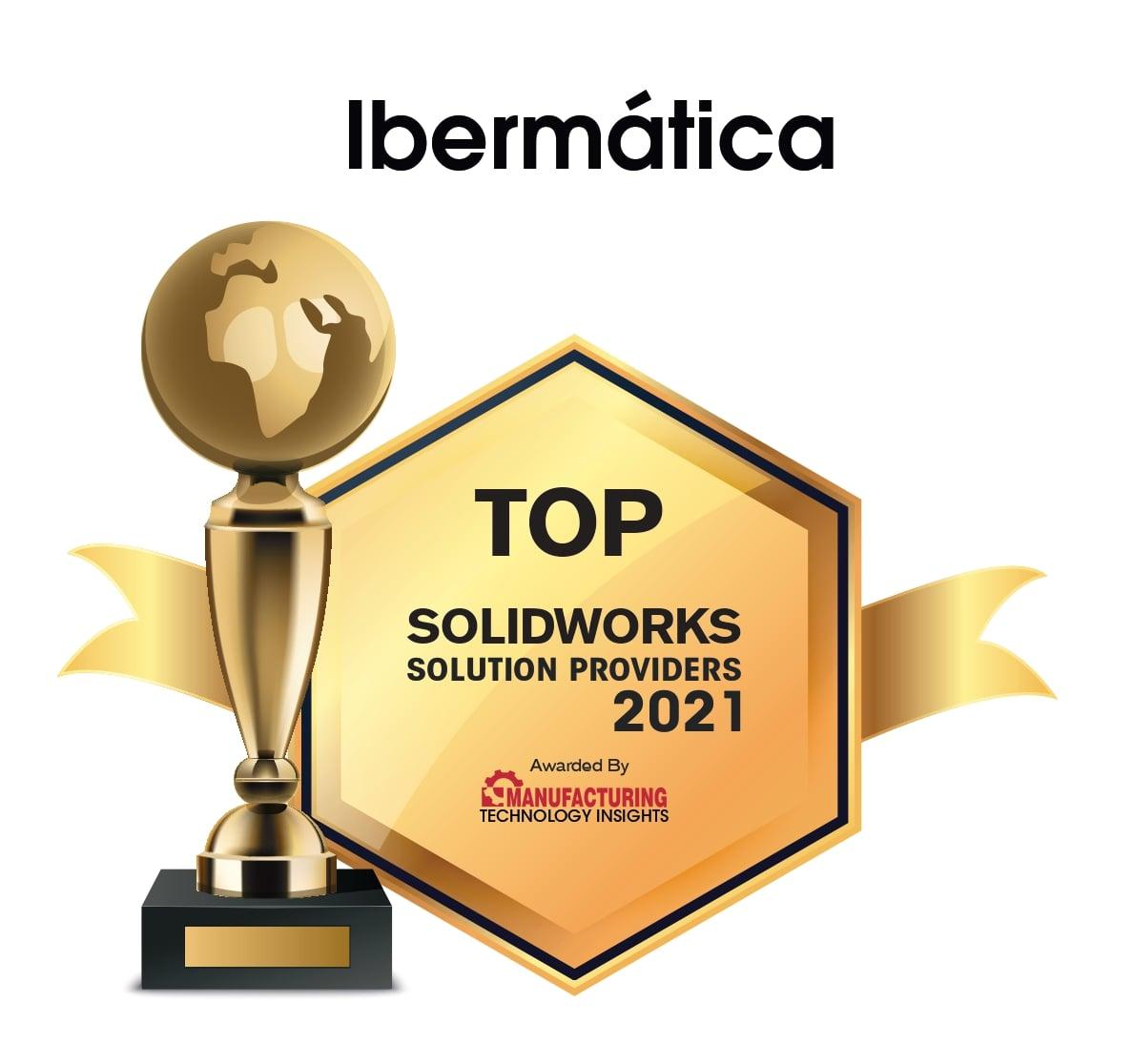 Ibermática TOP 10 Reseller SOLIDWORKS & 3DEXPERIENCE