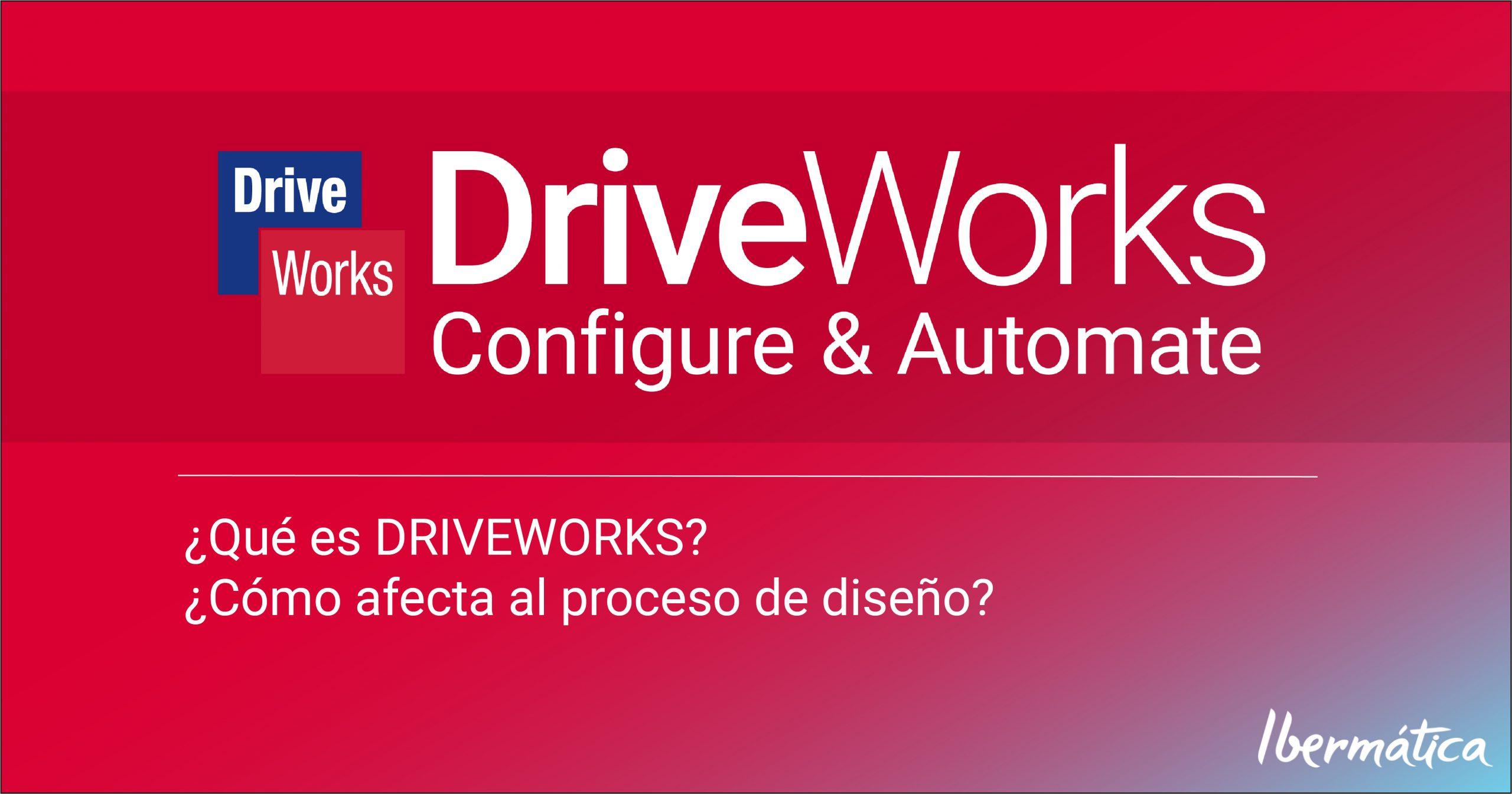 ¿Qué es DRIVEWORKS? ¿Cómo afecta al proceso de diseño?