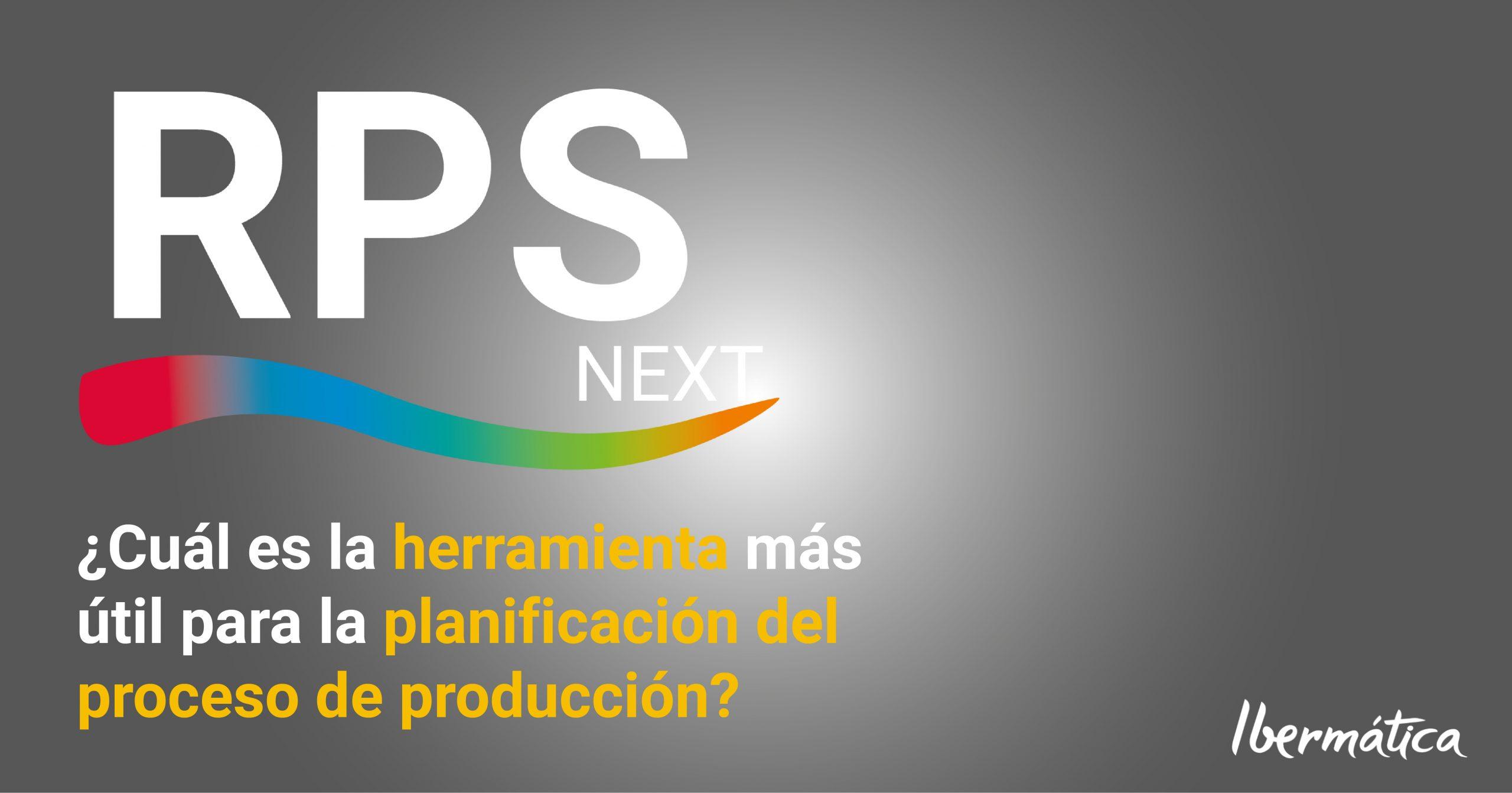 RPS - MRP II : la herramienta más útil para la planificación del proceso de producción