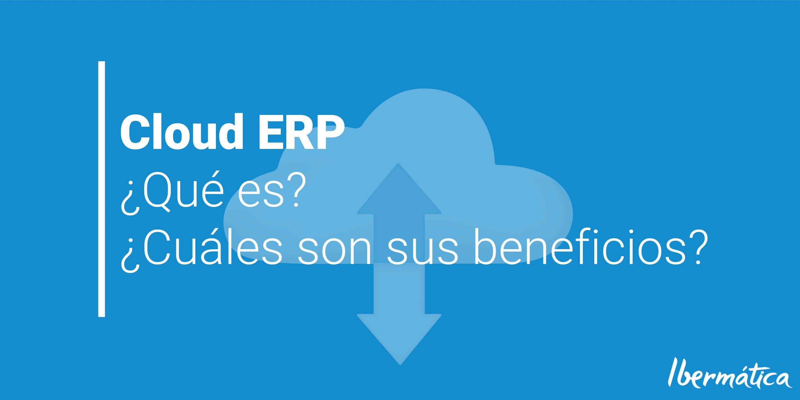 Cloud ERP: ¿Qué es? ¿Qué tecnología usa? ¿Cuáles son los beneficios de tener los datos en la nube?